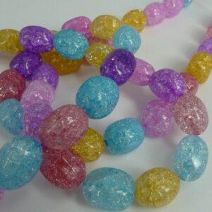 Multifarvede krystalnuggets