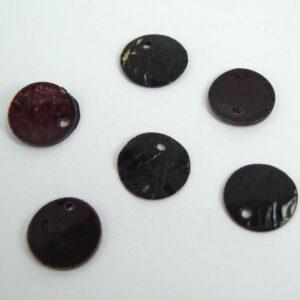 Tynde perlemorsmønter, brune