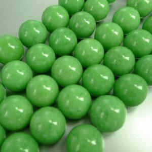 Mashan'jade', æblegrøn 14mm