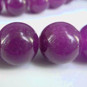 Mottle jade, violette 18 mm