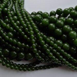 'Jade', armygrøn 12mm