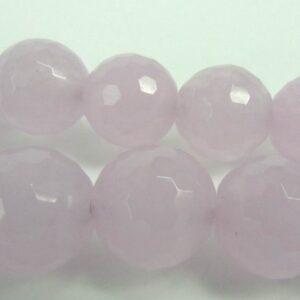 'Jade', misty lavender,facetterede 10mm