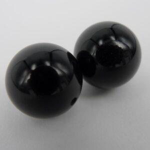 Anborede, onyks perler 10mm