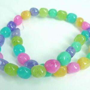 'Jade' multifarvede nuggets
