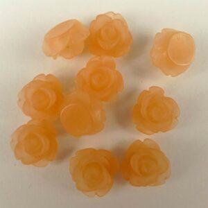 10mm roser Ice Apricot(10stk)
