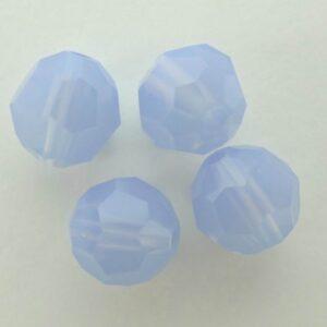 Swarovski rund facet, air blue opal 8mm
