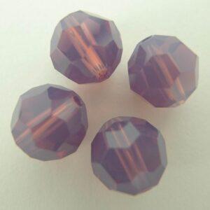 Swarovski rund facet, cyclamen opal 8mm