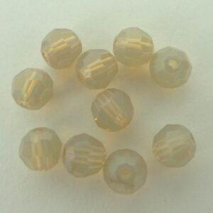 Swarovski rund facet, sand opal 4mm