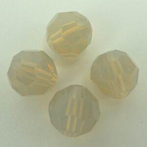 Swarovski rund facet, sand opal 8mm