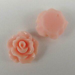 11mm roser, lyserøde 10stk