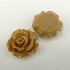 11mm roser, lys brun 10stk