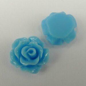 11mm roser, lyseblå 10stk