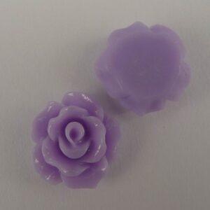 11mm roser, Lyslilla 10stk