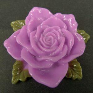 Stor syrenfarvet resin rose