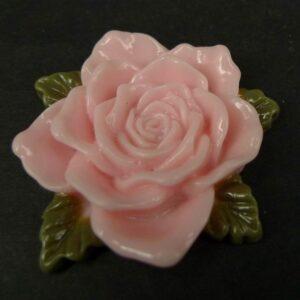 Stor sart rosa resin rose