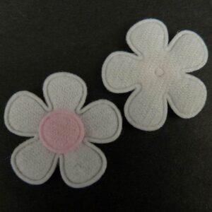 Tekstil blomster lyserød