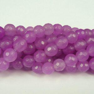 'Jade', Violette facetterede 6mm