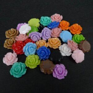 *11mm roser, mixcolor 38stk