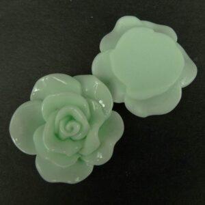 Roser 30mm Lys aqua(2stk)