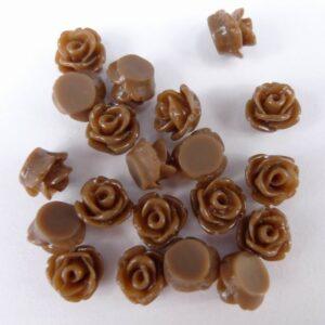 Små brune roser 20stk