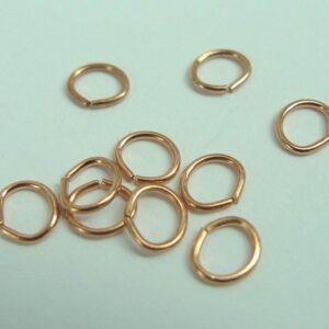 Øskner ovale 4,5x5mm (10stk)