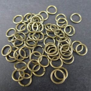 10gram Øskner Antik bronze 6mm