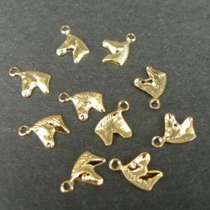 Små hestehoved vedhæng FG(10stk)