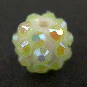 Light mint resin kugle 12mm
