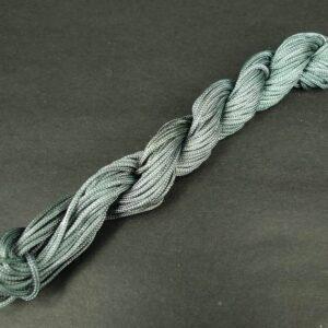 Nylon snøre mørkegrå, 1,5mm(pris pr. bundt)