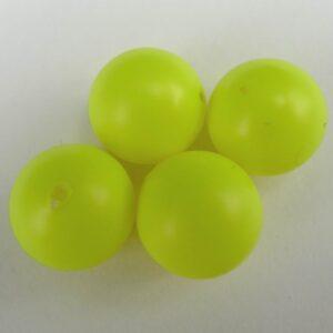 *Swarovski anborede, neon yellow 6mm.(10stk)
