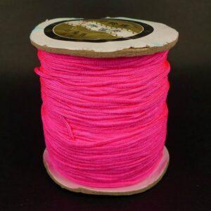 Nylon snøre Neon Pink, 1,5mm(pris pr.meter)