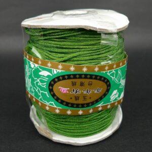*Nylon snøre Oliven Grøn, 1,2mm(pris pr.rulle)