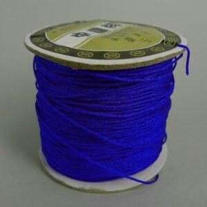 Nylon snøre koboltblå, ca. 1mm(100meter)