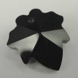 Lille glasblad, sort