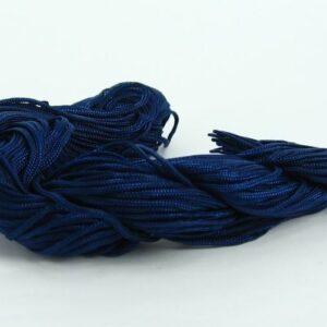 Nylon snøre mørkeblå, 1,2 mm. (pris pr. bundt)
