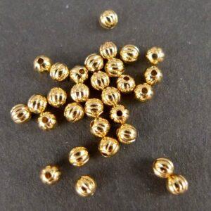 FG perler, rillede 2½mm(30stk)