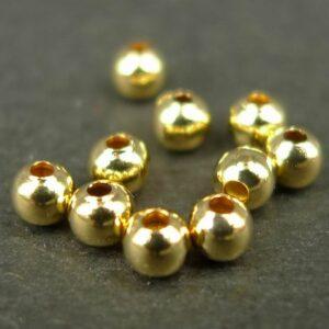 FG micro perler, glatte 2½mm(50stk)