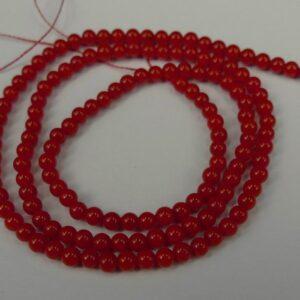 Røde koraller 3mm