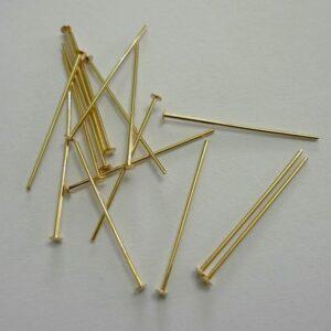 2½ cm. FG Perlestave 0,7mm(100stk)