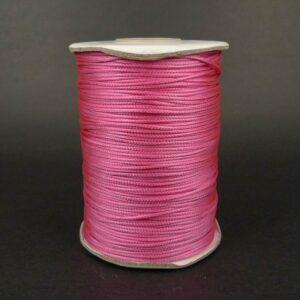 *10meter 1,2mm bomuld, pink