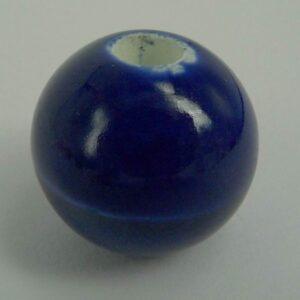 Keramikperle 18 mm, blå