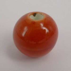 Keramikperle 18mm, orange