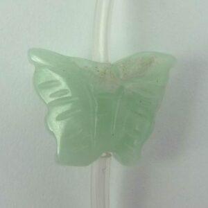 Amazonit, sommerfugle ca.12x16mm