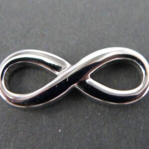 Infinity mellemled i stål 1 stk.