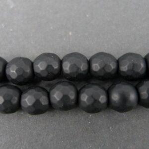 Multifacetterede blackstone 6mm.