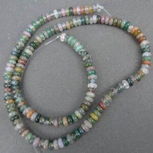 Rondeller i indian agat