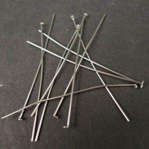 Perlestave og øskner i stål