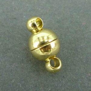 Små magnetlåse, guldfarvede 4stk.