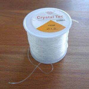 Rulle med rund elastiktråd, 1mm