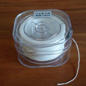 Æske med flad elastiktråd, 1mm